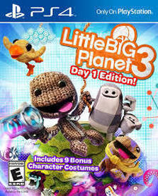 LITTLE BIG PLANET 3 (GRA UŻYWANA)