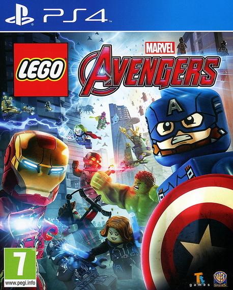 LEGO AVENGERS (GRA UŻYWANA) (1)