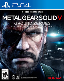 METAL GEAR SOLID V GROUND ZERO (GRA UŻYWANA)