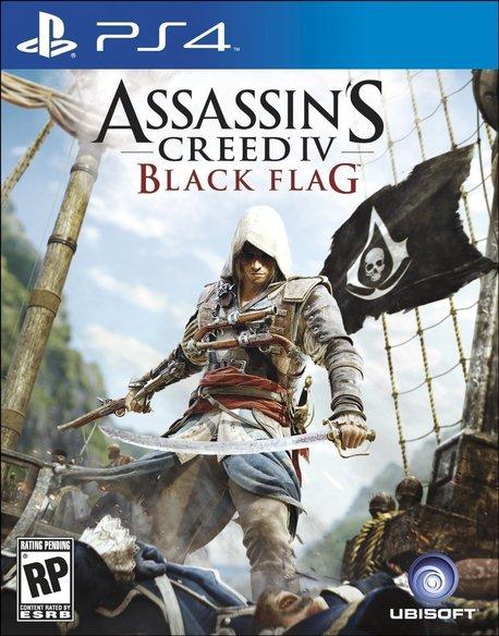 ASSASSIN'S CREED 4 BLACK FLAG (GRA UŻYWANA) (1)