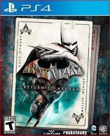 BATMAN RETURN TO ARKHAM (GRA UŻYWANA)