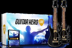 GUITAR HERO LIVE + 2 GITARY (GRA UŻYWANA)