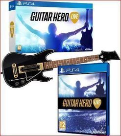 GUITAR HERO LIVE + GITARA (GRA UŻYWANA)