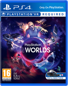 PLAYSTATION WORLDS VR  (GRA UŻYWANA)