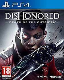 DISHONORED DEATH OF THE OUTSIDER (GRA UŻYWANA)