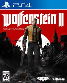 WOLFENSTEIN II THE NEW COLOSSUS (GRA UŻYWANA)