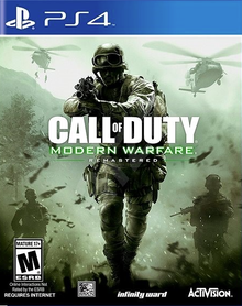 CALL OF DUTY MODERN WARFARE (GRA UŻYWANA)