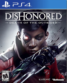 DISHONORED DEATH OF THE OUTSIDER ANG. (GRA UŻYWANA)