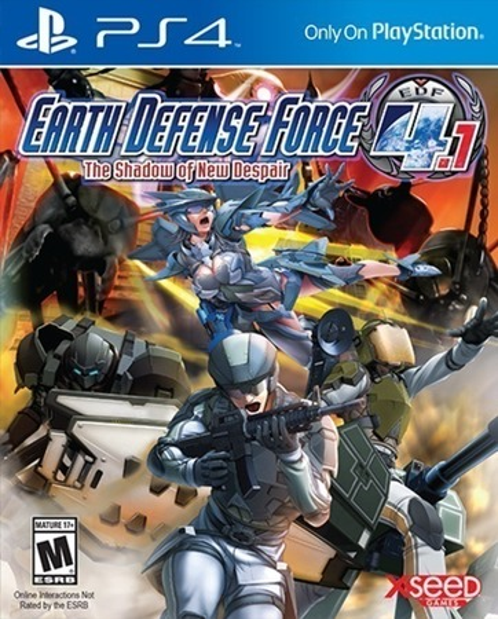 EARTH DEFENCE 4.1 (GRA UŻYWANA) (1)