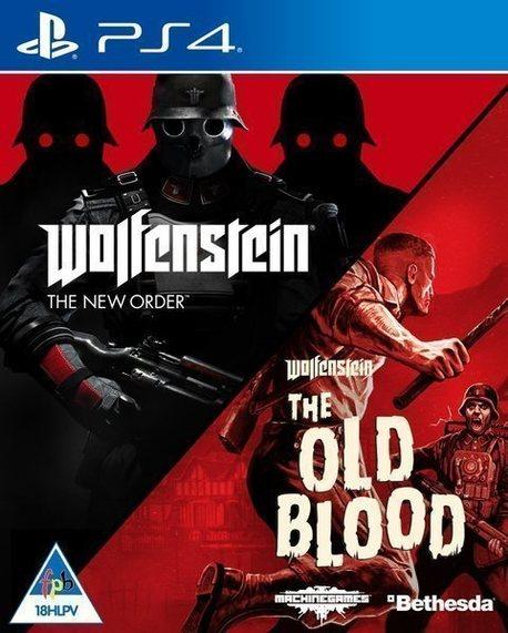 WOLFENSTEIN NEW ORDER + OLD BLOOD (GRA UŻYWANA) (1)