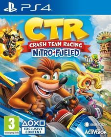 CRASH TEAM RACING NITRO FUELED (GRA UŻYWANA)