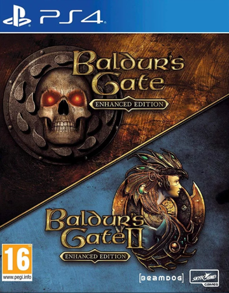 BALDUR'S GATE 1 + 2 ENHANCED EDITION (GRA UŻYWANA) (1)