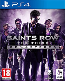 SAINTS ROW THE THIRD REMASTERED (GRA UŻYWANA)